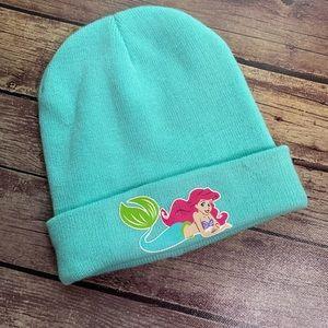 Disney Accessories - 3/$25 Disney The Little Mermaid Ariel Knit Beanie